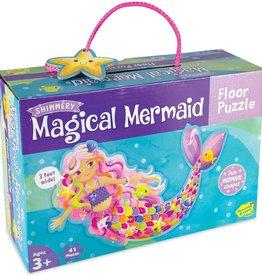 Peaceable Kingdom Magical Mermaid Floor Puzzle
