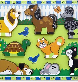 Melissa & Doug Chunky Wooden Puzzle Pets