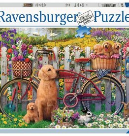Ravensburger Cute Dogs in the Garden 500pc puzzle