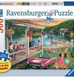 Ravensburger Summer at the Lake 300pc puzzle