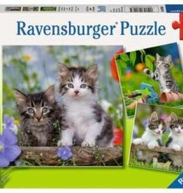Ravensburger Tiger Kittens 3x49pc Puzzles