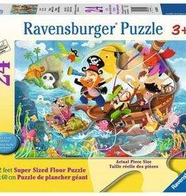 Ravensburger Land Ahoy! 24pc floor puzzle