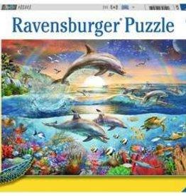 Ravensburger Dolphin Paradise 300xxl puzzle