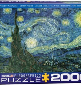 Eurographics Inc Starry Night 2000pc Puzzle