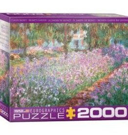Eurographics Inc Monet's Garden by Claude Monet 2000pc Puzzle