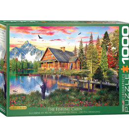 Eurographics Inc The Fishing Cabin 1000pc. Puzzle