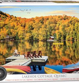 Eurographics Inc Lakeside Cottage, Quebec 1000pc. Puzzle