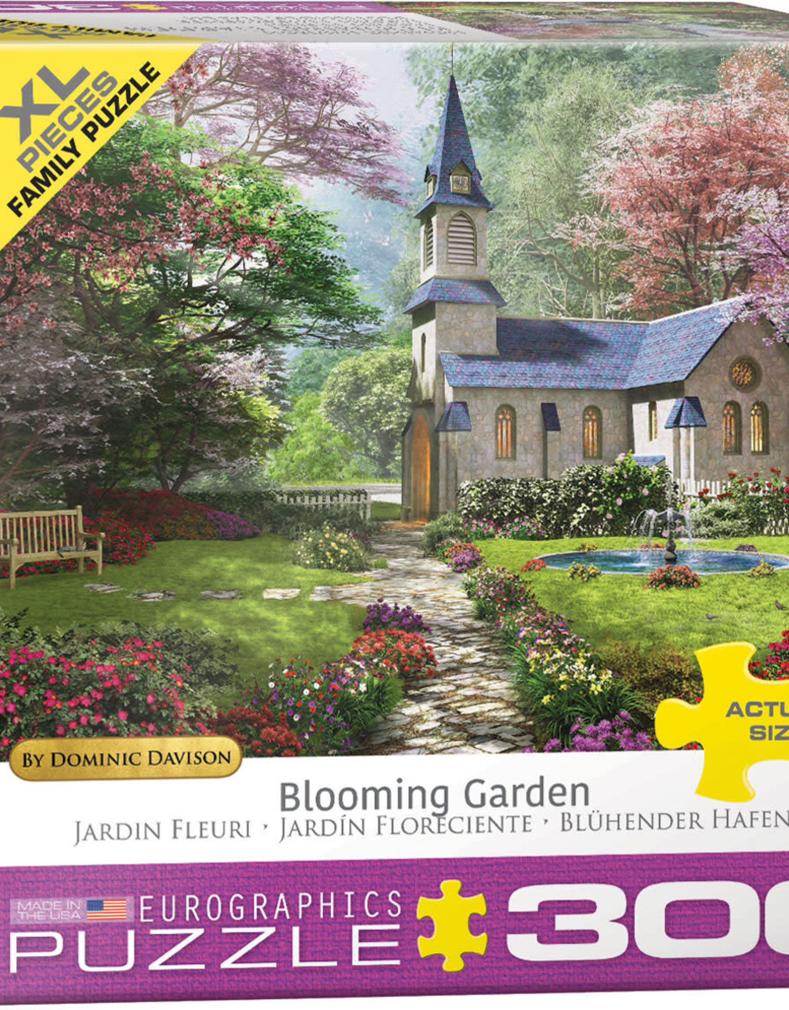Eurographics Inc Blooming Garden by Dominic Davison 300pc Puzzle