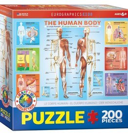 Eurographics Inc The Human Body 200pc Puzzle