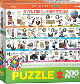 Eurographics Inc Inventors and their Inventions 200pc Puzzle