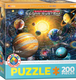 Eurographics Inc Exploring the Solar System 200pc Puzzle