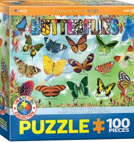 Eurographics Inc Garden Butterflies 100pc Puzzle