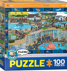 Eurographics Inc Crazy Aquarium - Spot & Find 100pc Puzzle