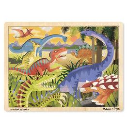 Melissa & Doug Dinosaur Wooden Jigsaw Puzzle 24pc