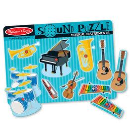 Melissa & Doug Musical Instruments Sound Puzzle