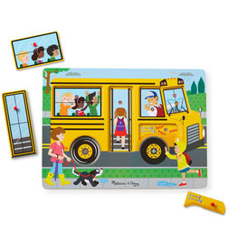 Melissa & Doug The Wheels On the Bus Song Puzzle