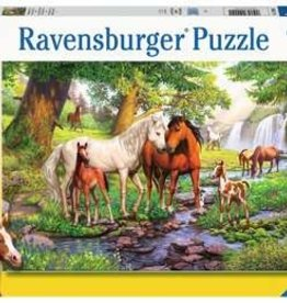 Ravensburger Horses by the Stream 300xxl puzzle