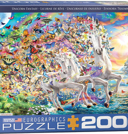 Eurographics Inc Unicorn Fantasy 2000pc  puzzle