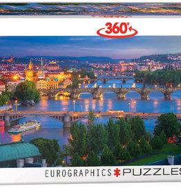 Eurographics Inc Prague - Czech Republic  1000pc Panoramic Puzzle