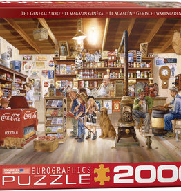 Eurographics Inc The General Store 2000pc Puzzle