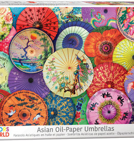 Eurographics Inc Asian Oil-Paper Umbrellas 1000pc Puzzle