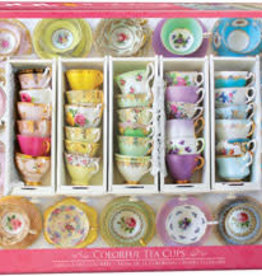 Eurographics Inc Colorful Tea Cups 1000pc Puzzle
