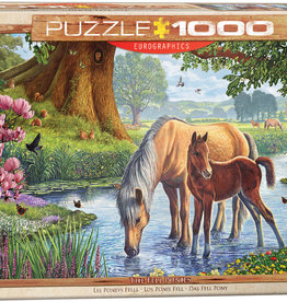 Eurographics Inc The Fell Ponies 1000pc Puzzle