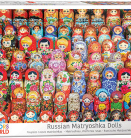 Eurographics Inc Russian Matryoshkas Dolls 1000pc Puzzle