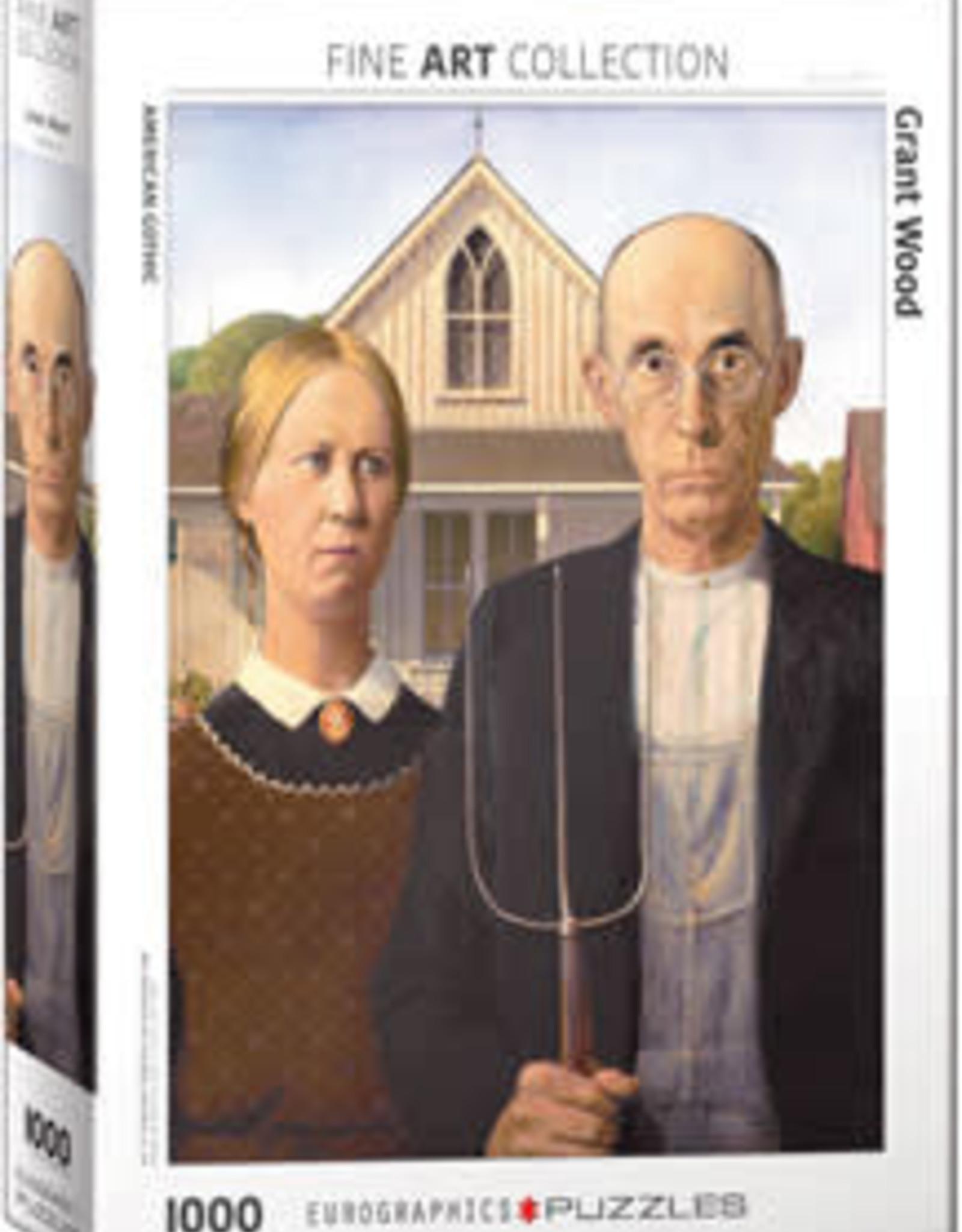 Eurographics Inc American Gothic 1000pc Puzzle