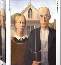Eurographics Inc American Gothic 1000pc Puzzle