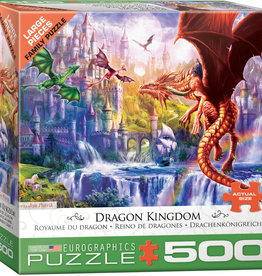 Eurographics Inc Dragon Kingdom 500pc Puzzle