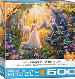 Eurographics Inc Princess' Garden 500pc Puzzle