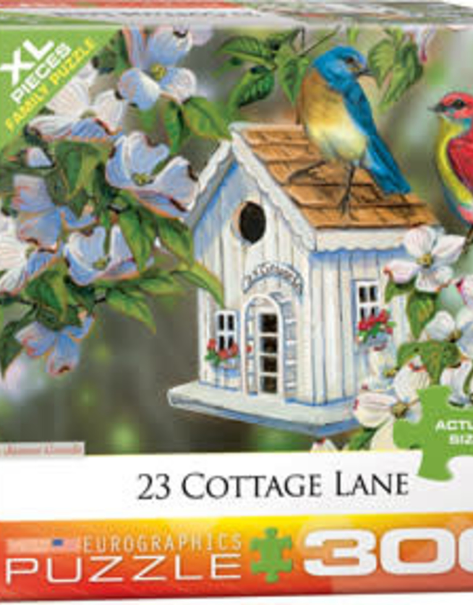 Eurographics Inc 23 Cottage Lane 300pc Puzzle