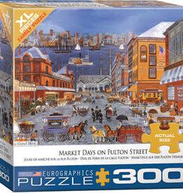 Eurographics Inc Market Days on Fulton St 300pc Puzzle