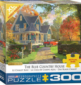 Eurographics Inc The Blue Country House 300pc Puzzle