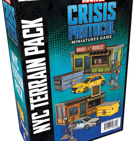 Asmodee Marvel Crisis Protocol: NYC Terrain Pack