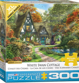 Eurographics Inc White Swan Cottage 300pc Puzzle