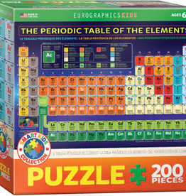 Eurographics Inc The Periodic Table of Elements 200pc Puzzle