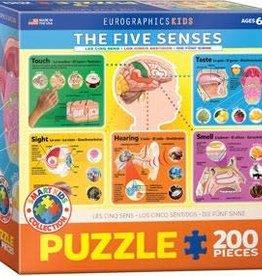 Eurographics Inc The Five Senses 200pc Puzzle