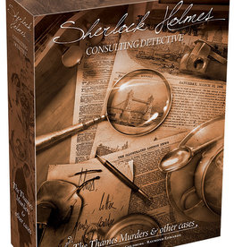 Asmodee Sherlock Holmes: Consulting Detective - The Thames Murders and Other Cases