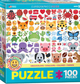 Eurographics Inc EMOJIColors  100pc Puzzle