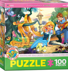 Eurographics Inc Beautiful Hair 100pc Puzzle
