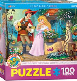 Eurographics Inc Princess Song 100pc Puzzle