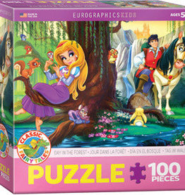 Eurographics Inc Day in the Forest 100pc Puzzle