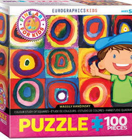 Eurographics Inc Color Study of Squares 100pc Puzzle