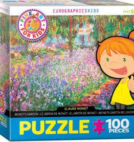 Eurographics Inc Monet's Garden 100pc Puzzle