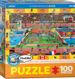 Eurographics Inc Olympic - Spot & Find  100pc Puzzle