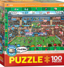 Eurographics Inc Soccer - Spot & Find 100pc Puzzle