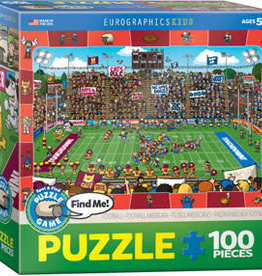Eurographics Inc Football - Spot & Find 100pc Puzzle