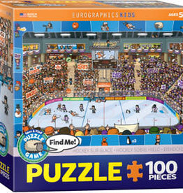Eurographics Inc Hockey - Spot & Find 100pc Puzzle